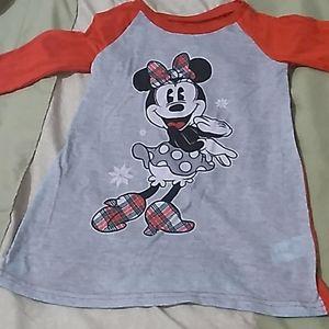 Girls Disney Minnie Mouse Pajamas